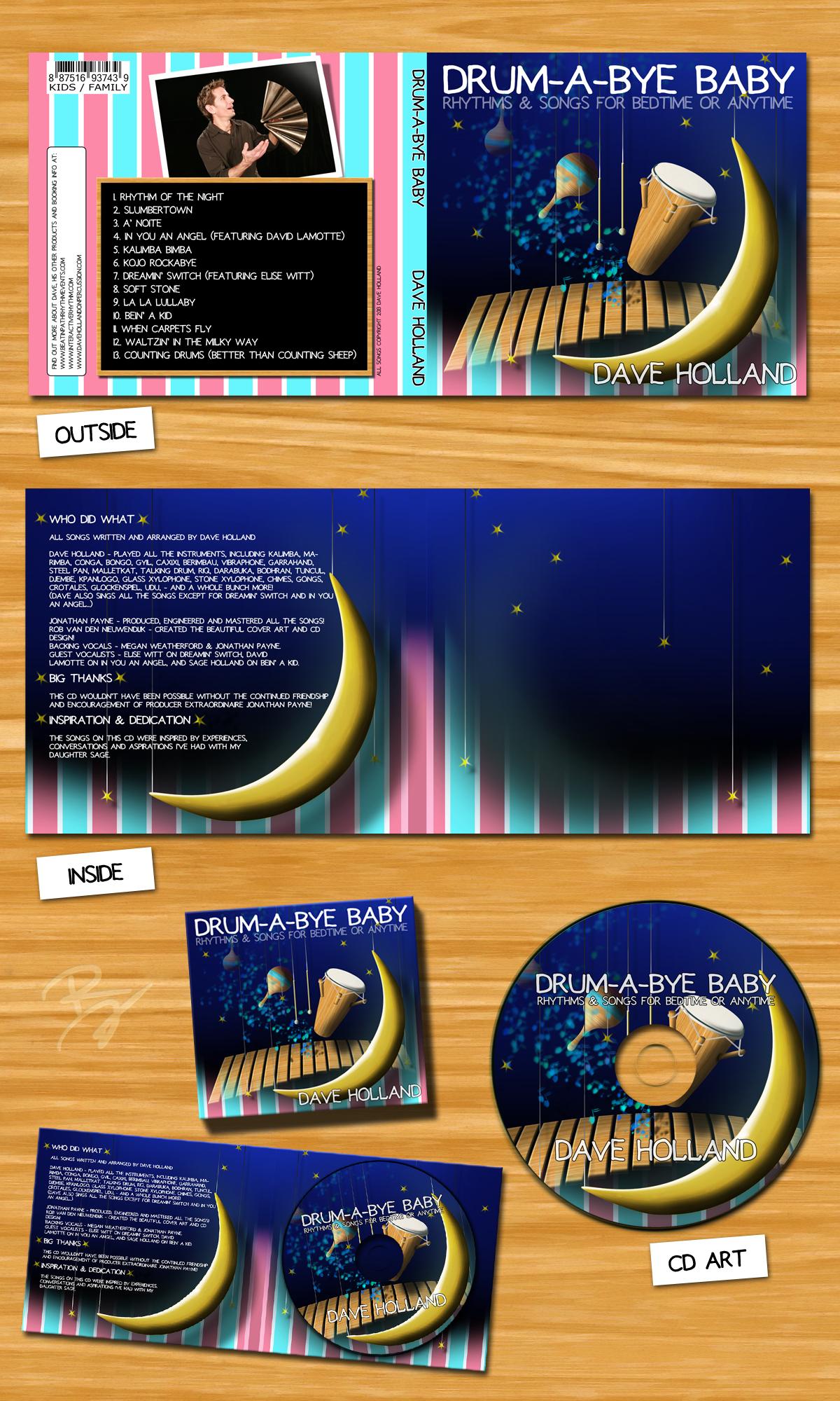 CD casing Drum